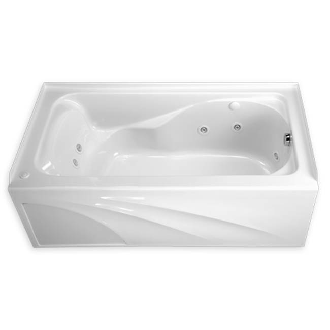 American Standard Three Wall Alcove Whirlpool Bathtubs item 2776118W.020