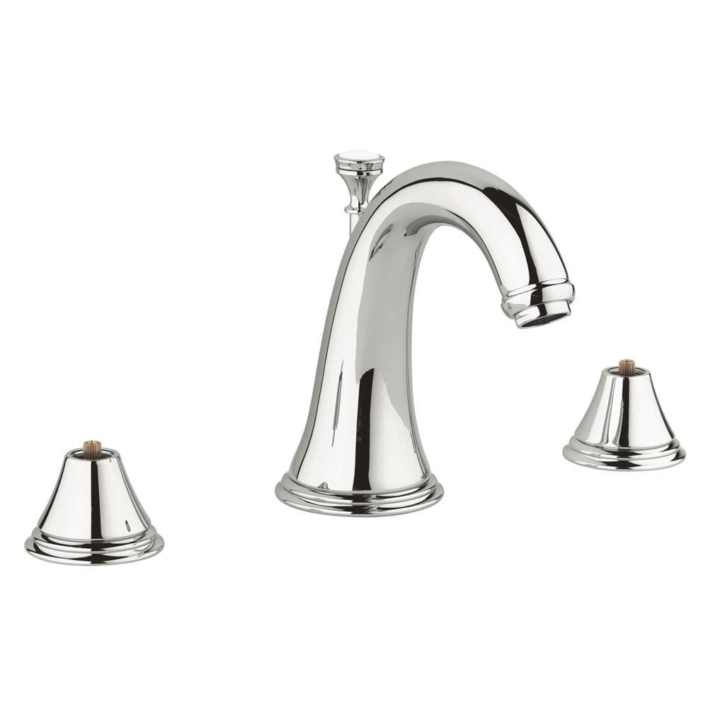 Grohe 2080100a Geneva 8 In Widespread 2 Handle 3 Hole Bathroom Faucet