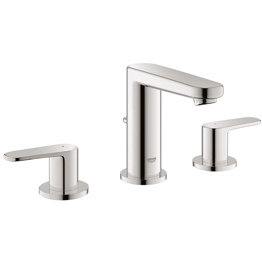 Grohe 2030200a Europlus S Size 8 In Widespread 2 Handle 3 Hole Bathroom Faucet