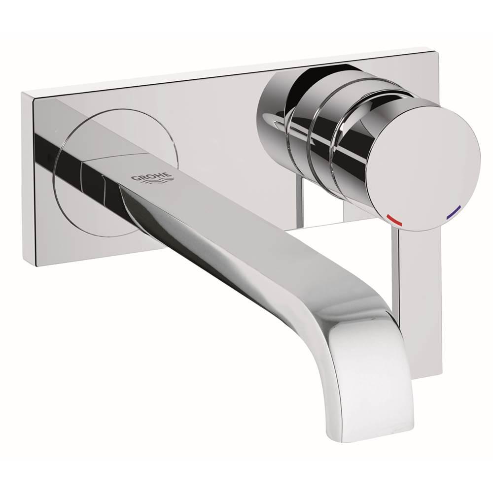 Grohe   19387000   Allure Single Handle 2 Hole Wall Mount Vessel Medium  Bathroom Faucet