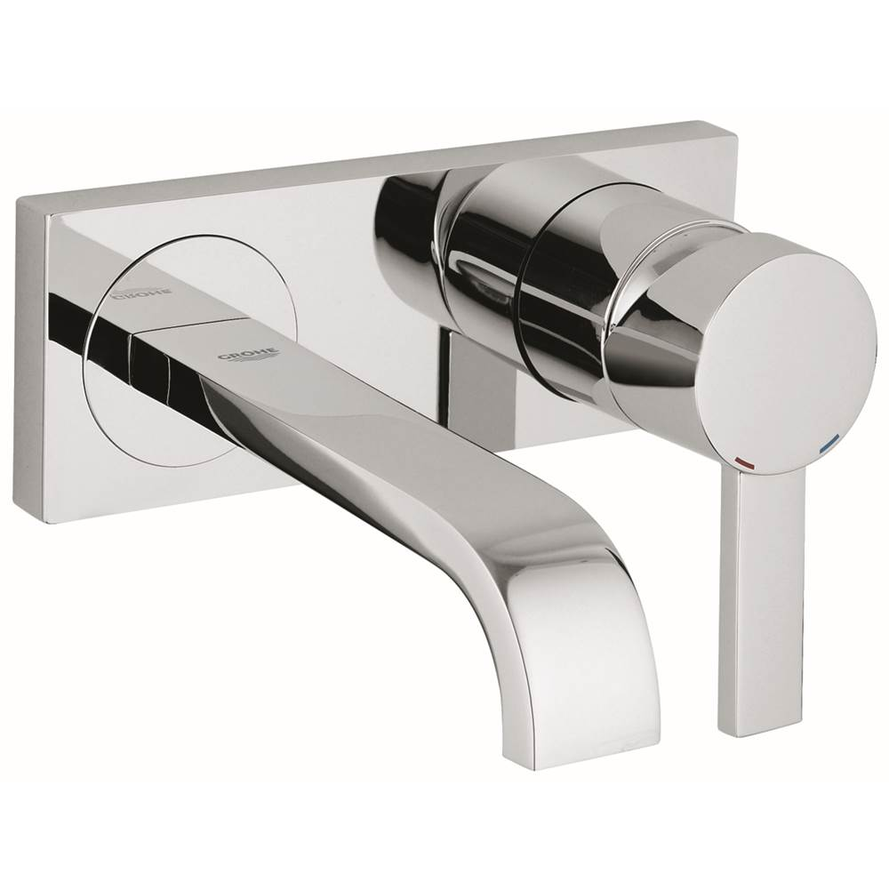 Grohe 19300000 Allure Single Handle 2 Hole Wall Mount Vessel Small Bathroom Faucet