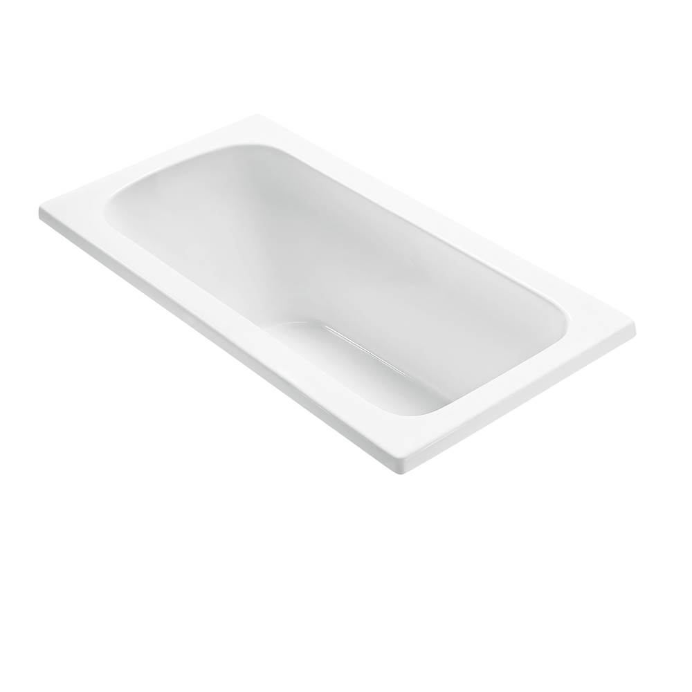 MTI Baths Undermount Whirlpool Bathtubs item P55U-WH-UM