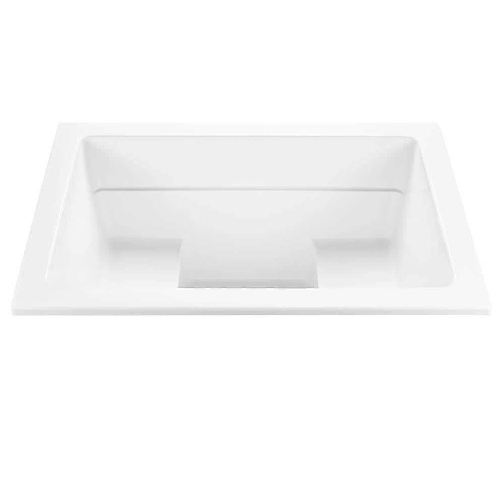 MTI Baths Drop In Whirlpool Bathtubs item P77U-WH-DI