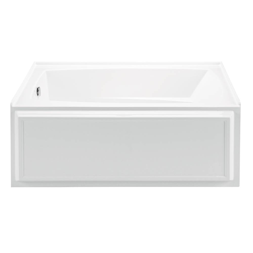MTI Baths Three Wall Alcove Whirlpool Bathtubs item P80-BI-LH