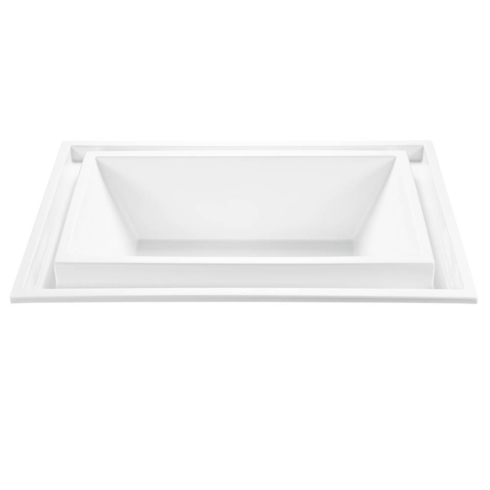 MTI Baths Undermount Whirlpool Bathtubs item P89-AL-UM